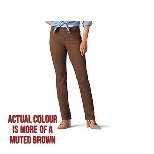 Lee Secretly Shapes Regular Fit Straight Leg Jeans